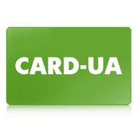 Логотип компании CARD-UA