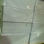 Расходные материалы для производства пластиковых карт - листовой ПВХ белый для офсетной и трафаретной печати 0,3 мм